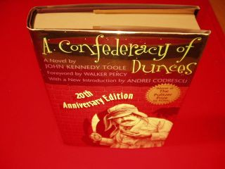 John Kennedy Toole A Confederacy of Dunces 1st Print of 20th Anniversary Edition