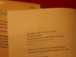 John Kennedy oole A Confederacy of Dunces 1s Prin of 20h Anniversary Ediion |