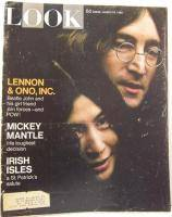 John Lennon Beatles Look Magazine March 18 1969 USA