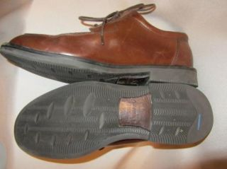 JOHNSTON MURPHY Mens CLassic Brown Leather Dress Career Tie Oxford Shoes 9 5 M