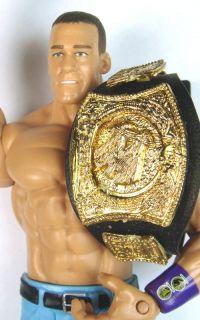 WWE Wrestling John Cena with Belt Wrestler Action Figure Kids Toy Never Give Up