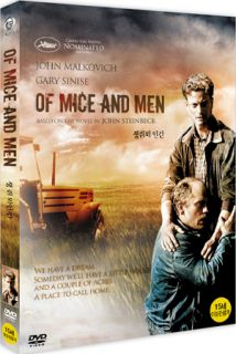 OF MICE AND MEN 1992 New Sealed DVD John Malkovich