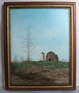 John Lewis Egenstafer Landscape Painting