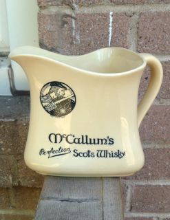Royal Doulton McCallum's Perfection Scots Whisky Whiskey Water Pitcher Jug 1920
