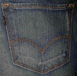 Levis 552 Straight Junior Womens Jeans Sz 4 6 8 10