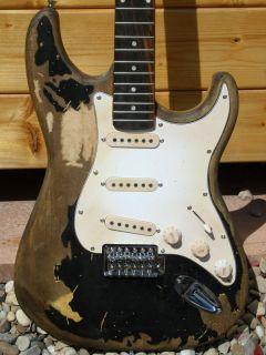 John Mayer Custom Relic Strat Electric Guitar