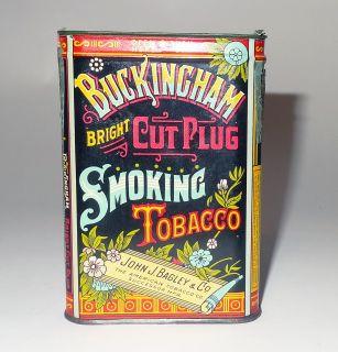 Vintage John J Bagley Co Tobacco Tin