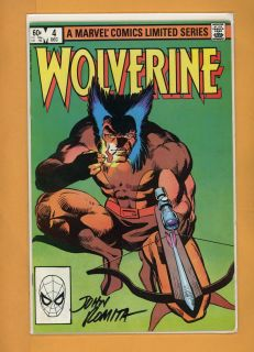 John Romita SR Wolverine Limited Series 4 Hand Signed Autograph Comic Book COA