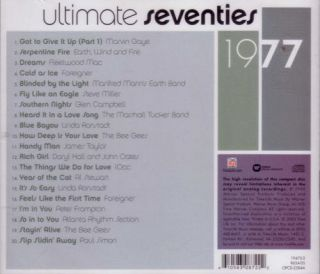 RARE TIME LIFE MUSIC BEST OF 1977 GREATEST SEVENTIES SOFT ROCK HITS CD 70s POP