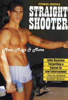 Men's Workout Magazine 1 96 Muscles John Nazarian Scott Rich