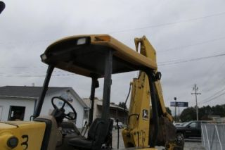 John Deere 310D Tractor Loader Backhoe Sells with