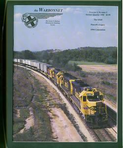 The Warbonnet Vol 01 2 Santa Fe Railway Historical Modeling Society magazine