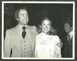 John Ritter Nancy Morgan Original 1978 Candid Photo