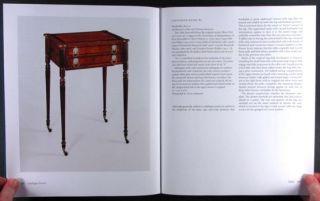 Antique John Thomas Seymour Furniture American Federal Cabinetwork Desk Bureau
