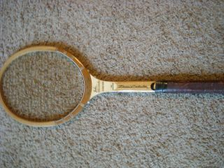 Rawlings John Newcombe Signature Wooden Tennis Racket