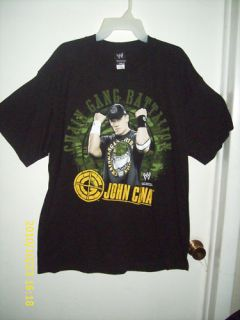 WWE John Cena Chain Gang Battalion T Shirt