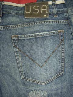 John Varvatos U s A Designer Jeans Straight Leg Button Fly Size 34x34