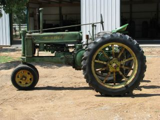 John Deere B Tractor 1937 Model Popping Johnnie s N 29953