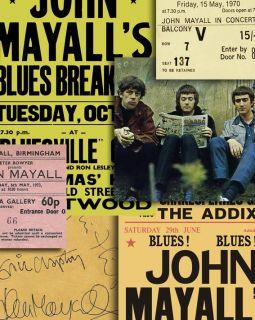 John Mayall Bluesbreakers Eric Clapton Memorabilia Posters Autographs Tickets