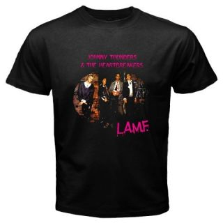 """Johnny Thunders The Heartbreakers"" Black T Shirt"