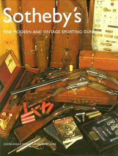 Sotheby's Vintage Sporting Shot Guns Auction Catalog 03