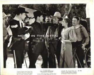 Cowboy Western Johnny Mack Brown Orig Oklahoma Frontier Universal Pictures 3