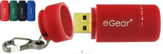 eGear Essential Gear Jolt USB Mini Light Flashlight Red