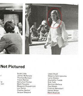 Steve Jobs 1st Girlfriend Crisann Brennan Homestead High Yearbook Mark Wozniak