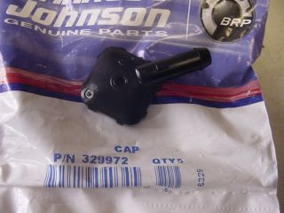 Johnson Evinrude Outboard Engine Fuel Pump Cap 329972
