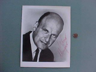 1960s Hogans Heroes TV Star Werner Klemperer signed autographed portrait photo
