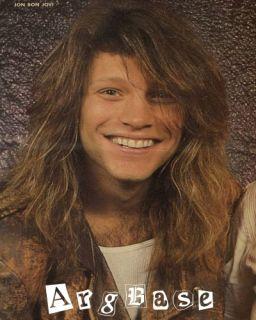 80s Jon Bon Jovi Pinup 178