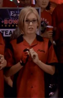 Eureka Marie Screen Worn Bowling Shirt Tshirt from Episode 312 Size x Small