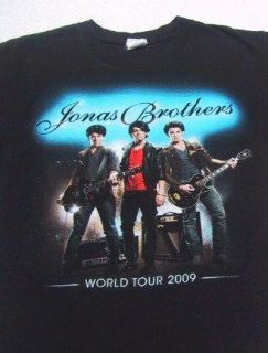 JONAS BROTHERS 2009 tour SMALL concert T SHIRT