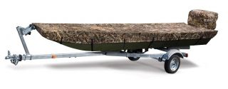"Jon Boat Cover 14 5""L x 70""w Trailerable Hunting Fishing Bass Duck Aluminum Camo"