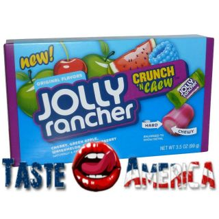 JOLLY RANCHER CRUNCH N CHEW CANDY 99g BOX AMERICAN IMPORT