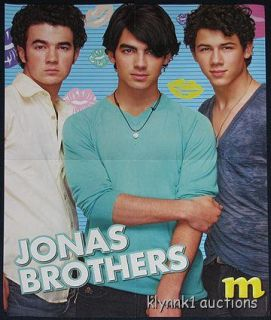 Jonas Brothers Centerfold Poster 1877A Selena Gomez