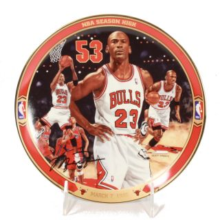 Michael Jordan Return to Greatness 6 'NBA Season High' Collectors Plate