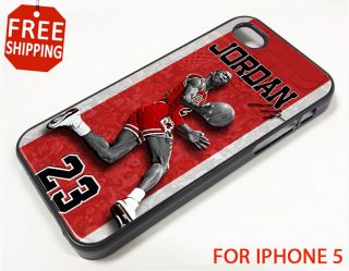 Michael Jordan NBA Chicago Bulls Nike Air iPhone 5 Case Apple Phone Cover 2