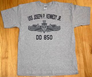 US USN Navy USS Joseph P Kennedy Jr DD 850 T Shirt