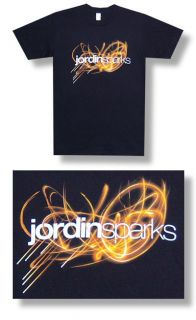 Jordin Sparks New Glow Lightweight T Shirt Large