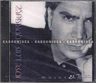 JOSE LUIS RODRIGUEZ Mujer CD NEW SEALED Collectible