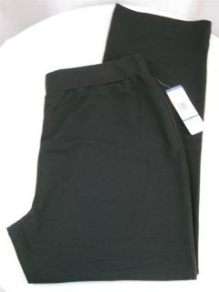 NWT Jones New York Signature Woman Plus Size Knit Pull on Pants Black Various