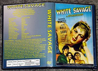 White Savage DVD Maria Montez Jon Hall Sabu