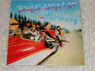 Jools Holland His Millionaires Self Titled 1981 LP Import UNPLAYED
