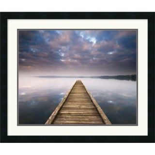 "Amanti Art Lake Walk III by Jonathan Chritchley Framed Art Print 22"" x 26"""
