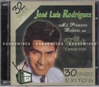 JOSE LUIS RODRIGUEZ Mis Primeros Boleros Con Billos Caracas Boys 2 CD Exitos