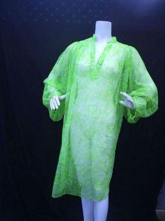 LILLY PULITZER LIZA NEON BUTTERFLY CHIFFON SHEER M TUNIC SHIRT DRESS