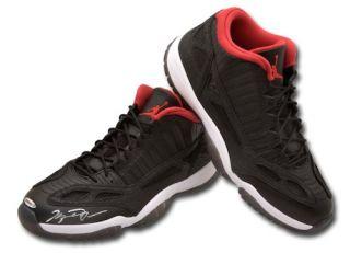 Michael Jordan Hand Signed Authentic Nike 11's Shoes UDA