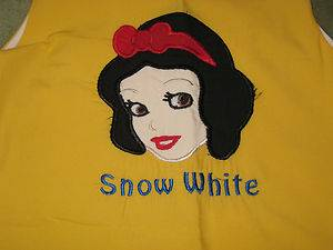 Custom Princess Snow White Dress 4 4T 5 5T Nanny Jo's Boutique Disney Resell