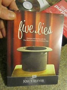 Joyce Meyer Five Lies DVD Exposing and dealing with the five most common lies